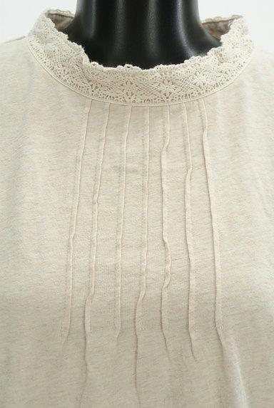 SM2(サマンサモスモス)の古着「ハイネックレースカットソー(カットソー・プルオーバー)」大画像5へ