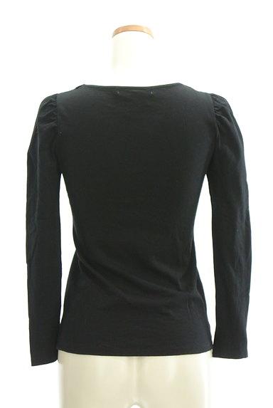 ef-de(エフデ)の古着「パールリボンネックカットソー(Tシャツ)」大画像2へ