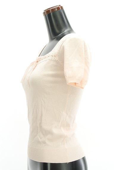 Feroux(フェルゥ)の古着「スクエアネックリボンカットソー(カットソー・プルオーバー)」大画像3へ