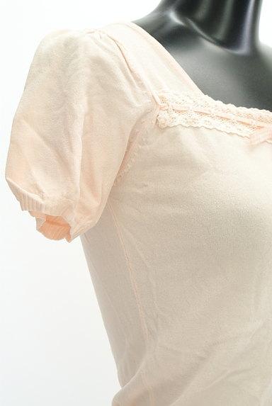 Feroux(フェルゥ)の古着「スクエアネックリボンカットソー(カットソー・プルオーバー)」大画像5へ