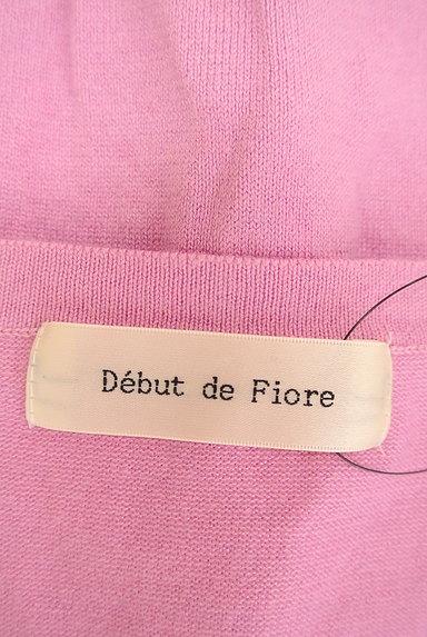 Debut de Fiore by LAISSE PASSE(デビュー・ド・フィオレ)の古着「立体飾りボタン付きコンパクトカーデ(カーディガン・ボレロ)」大画像6へ