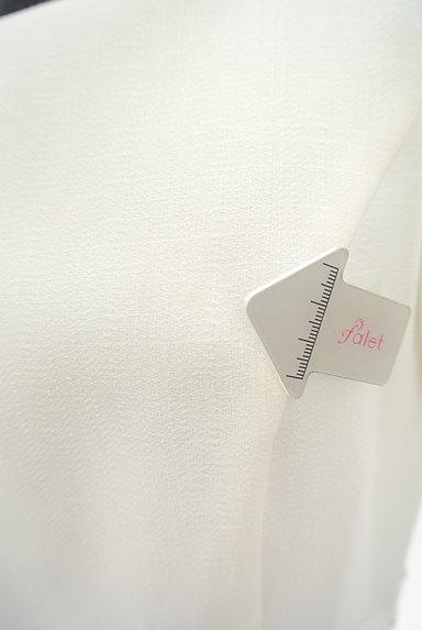 LAISSE PASSE(レッセパッセ)の古着「ウエスト刺繍レースモノトーンワンピ(ワンピース・チュニック)」大画像5へ
