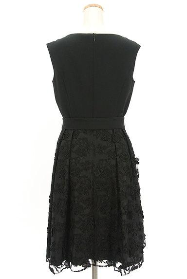 LAISSE PASSE(レッセパッセ)の古着「立体花刺繍チュールワンピース(ワンピース・チュニック)」大画像2へ