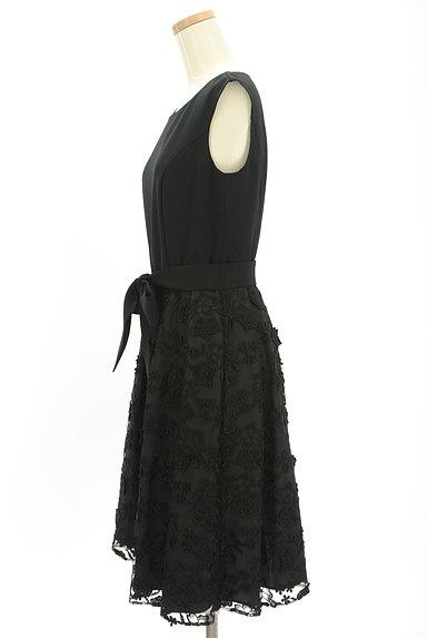LAISSE PASSE(レッセパッセ)の古着「立体花刺繍チュールワンピース(ワンピース・チュニック)」大画像3へ
