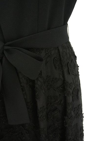 LAISSE PASSE(レッセパッセ)の古着「立体花刺繍チュールワンピース(ワンピース・チュニック)」大画像5へ