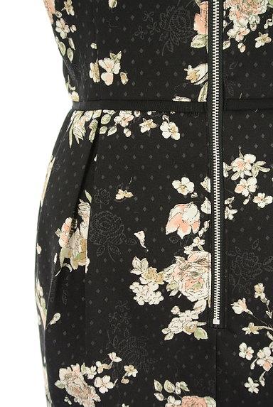LAISSE PASSE(レッセパッセ)の古着「花×ドット柄ワンピース(ワンピース・チュニック)」大画像5へ