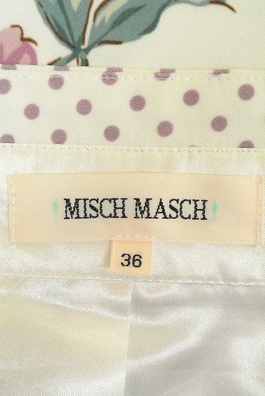 MISCH MASCH(ミッシュマッシュ)の古着「花柄×ドット柄膝下丈スカート(スカート)」大画像6へ