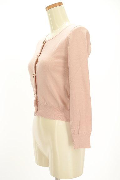 LAISSE PASSE(レッセパッセ)の古着「ビジュー飾りボタンカーディガン(カーディガン・ボレロ)」大画像3へ