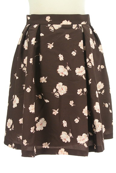 LAISSE PASSE(レッセパッセ)の古着「花柄フレアスカート(ミニスカート)」大画像1へ