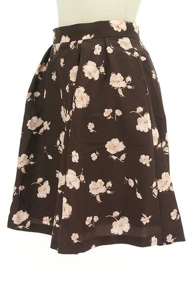 LAISSE PASSE(レッセパッセ)の古着「花柄フレアスカート(ミニスカート)」大画像3へ