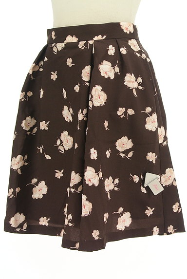 LAISSE PASSE(レッセパッセ)の古着「花柄フレアスカート(ミニスカート)」大画像4へ