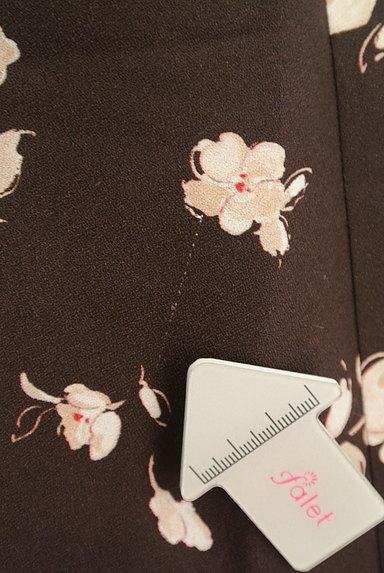 LAISSE PASSE(レッセパッセ)の古着「花柄フレアスカート(ミニスカート)」大画像5へ