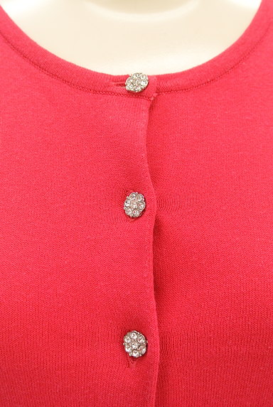 LAISSE PASSE(レッセパッセ)の古着「装飾ボタン七分袖カーディガン(カーディガン・ボレロ)」大画像4へ