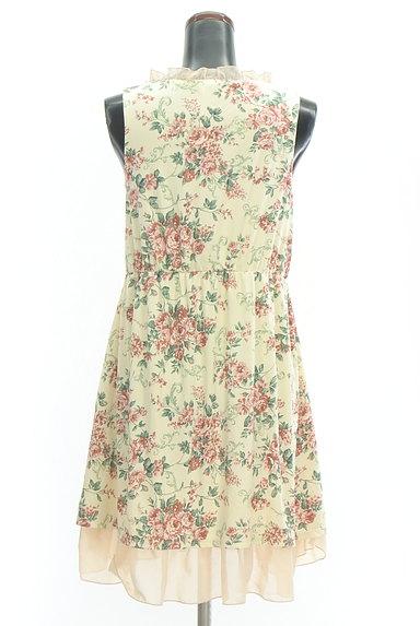 axes femme(アクシーズファム)の古着「シフォンフリル花柄ワンピース(キャミワンピース)」大画像2へ