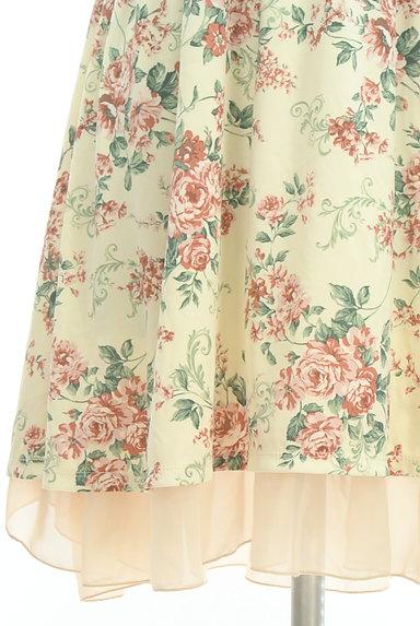 axes femme(アクシーズファム)の古着「シフォンフリル花柄ワンピース(キャミワンピース)」大画像5へ