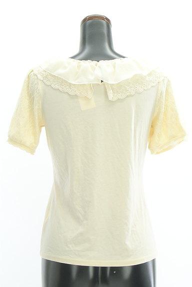 axes femme(アクシーズファム)の古着「シフォン&レース襟カットソー(カットソー・プルオーバー)」大画像2へ