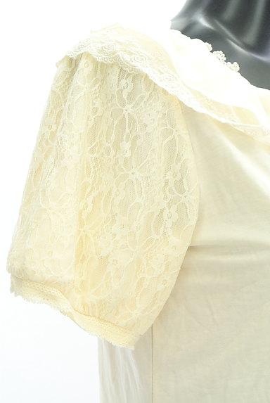 axes femme(アクシーズファム)の古着「シフォン&レース襟カットソー(カットソー・プルオーバー)」大画像5へ