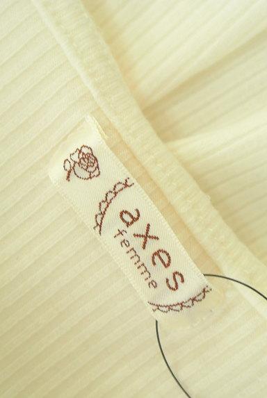 axes femme(アクシーズファム)の古着「フリルレースパフスリーブカットソー(カットソー・プルオーバー)」大画像6へ