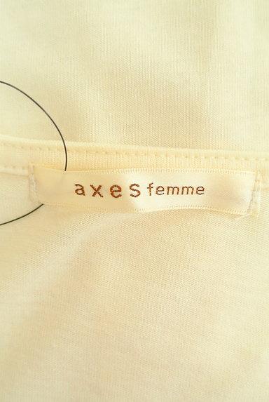 axes femme(アクシーズファム)の古着「レースアップシフォン袖カットソー(カットソー・プルオーバー)」大画像6へ