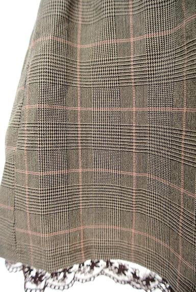 axes femme(アクシーズファム)の古着「裾レースチェック柄ショートパンツ(ショートパンツ・ハーフパンツ)」大画像5へ