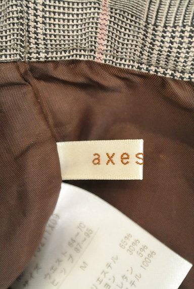 axes femme(アクシーズファム)の古着「裾レースチェック柄ショートパンツ(ショートパンツ・ハーフパンツ)」大画像6へ