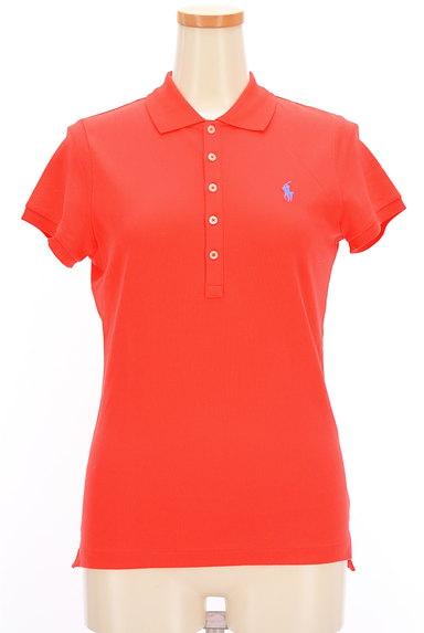 Ralph Lauren(ラルフローレン)の古着「ワンポイントカラーポロシャツ(ポロシャツ)」大画像1へ