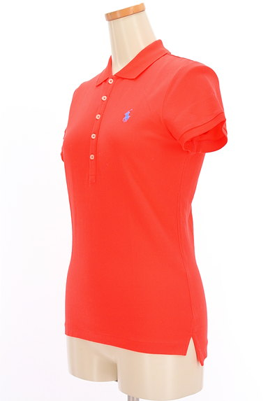 Ralph Lauren(ラルフローレン)の古着「ワンポイントカラーポロシャツ(ポロシャツ)」大画像3へ