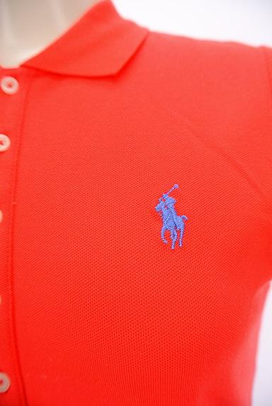 Ralph Lauren(ラルフローレン)の古着「ワンポイントカラーポロシャツ(ポロシャツ)」大画像4へ