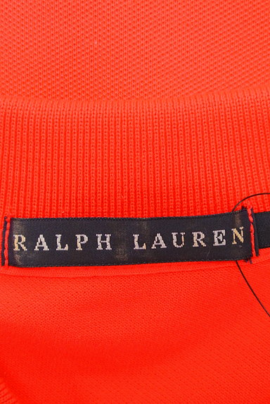 Ralph Lauren(ラルフローレン)の古着「ワンポイントカラーポロシャツ(ポロシャツ)」大画像6へ