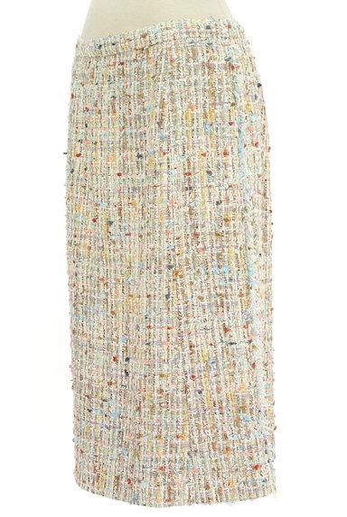 49av.Junko Shimada(49アヴェニュージュンコシマダ)の古着「膝下丈ツイードスカート(スカート)」大画像3へ
