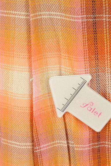 SCAPA(スキャパ)の古着「チェック柄ロングフレアスカート(ロングスカート・マキシスカート)」大画像5へ