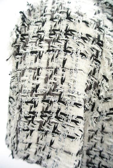 49av.Junko Shimada(49アヴェニュージュンコシマダ)の古着「フリンジツイードワンピース(ワンピース・チュニック)」大画像5へ