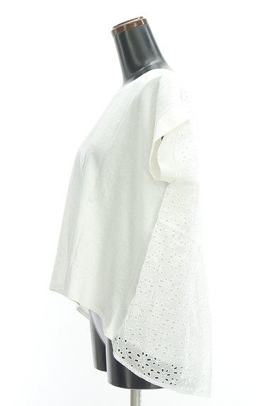 mjuka(ミューカ)の古着「バックレースペプラムカットソー(Tシャツ)」大画像3へ