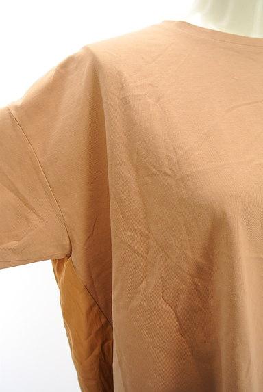 mjuka(ミューカ)の古着「バックサテン切替カットソー(Tシャツ)」大画像4へ