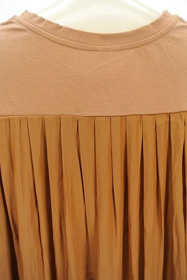 mjuka(ミューカ)の古着「バックサテン切替カットソー(Tシャツ)」大画像5へ