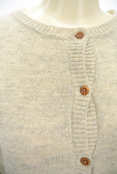 SM2(サマンサモスモス)の古着「ワンポイントニットカーディガン(カーディガン・ボレロ)」大画像4へ