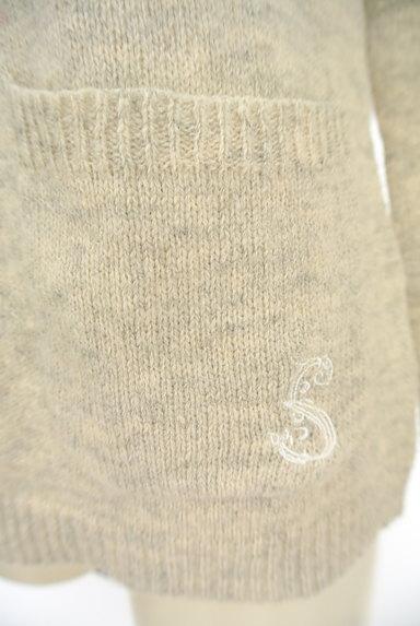 SM2(サマンサモスモス)の古着「ワンポイントニットカーディガン(カーディガン・ボレロ)」大画像5へ