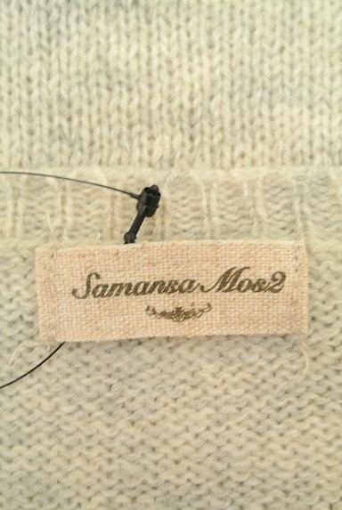 SM2(サマンサモスモス)の古着「ワンポイントニットカーディガン(カーディガン・ボレロ)」大画像6へ