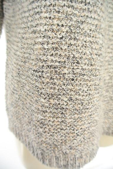 Tiara(ティアラ)の古着「五分袖ミックスニット(ニット)」大画像5へ