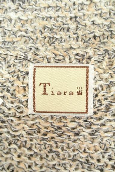 Tiara(ティアラ)の古着「五分袖ミックスニット(ニット)」大画像6へ