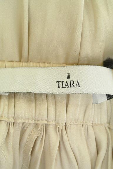 Tiara(ティアラ)の古着「光沢シワプリーツガウチョパンツ(パンツ)」大画像6へ