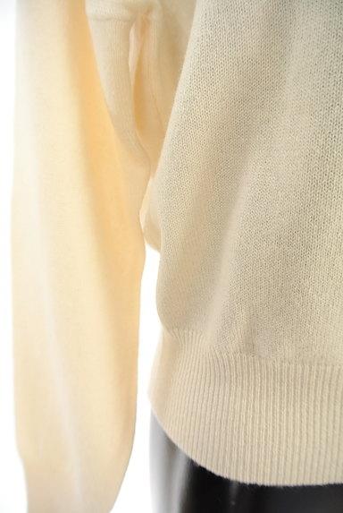 Tiara(ティアラ)の古着「ベーシックカシミヤ混ニット(ニット)」大画像5へ