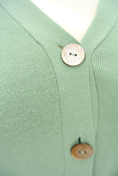 JILL by JILLSTUART(ジルバイジルスチュアート)の古着「コンパクト五分袖リブカーディガン(カーディガン・ボレロ)」大画像4へ
