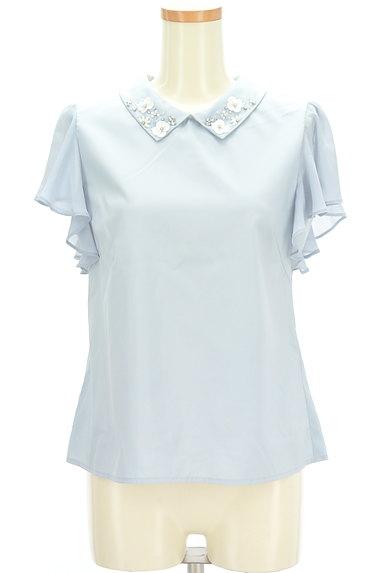 WILLSELECTION(ウィルセレクション)の古着「装飾襟シフォン袖カットソー(カットソー・プルオーバー)」大画像1へ