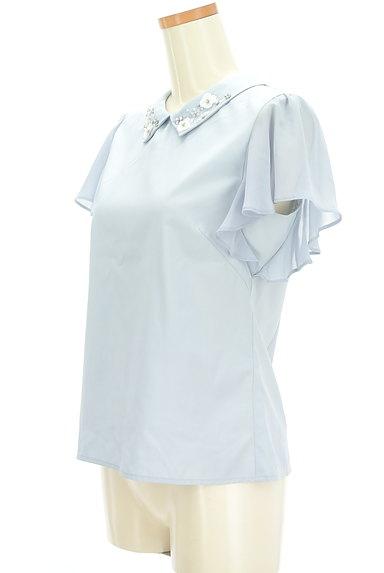 WILLSELECTION(ウィルセレクション)の古着「装飾襟シフォン袖カットソー(カットソー・プルオーバー)」大画像3へ