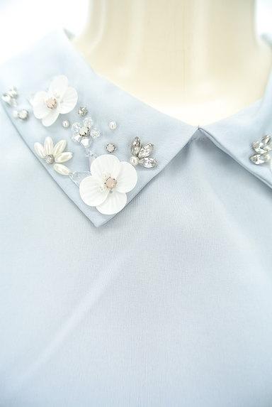 WILLSELECTION(ウィルセレクション)の古着「装飾襟シフォン袖カットソー(カットソー・プルオーバー)」大画像4へ