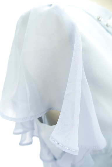 WILLSELECTION(ウィルセレクション)の古着「装飾襟シフォン袖カットソー(カットソー・プルオーバー)」大画像5へ