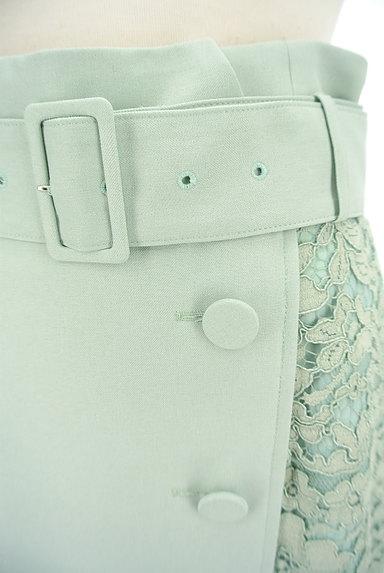 JUSGLITTY(ジャスグリッティー)の古着「サイドレースラップ風膝下丈スカート(スカート)」大画像4へ