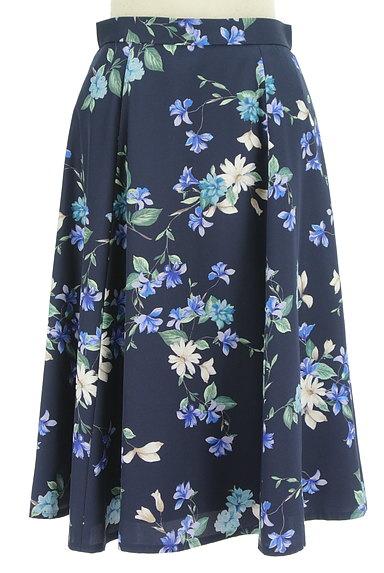 JUSGLITTY(ジャスグリッティー)の古着「膝下丈花柄フレアスカート(スカート)」大画像1へ