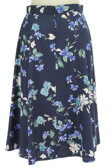 JUSGLITTY(ジャスグリッティー)の古着「膝下丈花柄フレアスカート(スカート)」大画像2へ